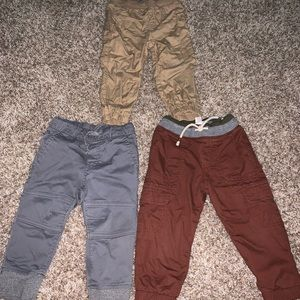 Three pair of pants from target